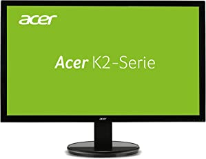 Acer K242HL 61 cm (24 Zoll) Monitor (VGA, DVI, 5ms Reaktionszeit) schwarz
