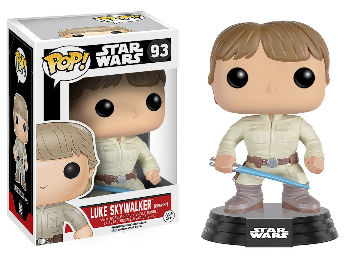 Funko Pop Luke Skywalker Bespin (Star Wars 93) Funko Pop Star Wars