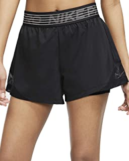 Nike Women's FLX 2 in 1 Shorts: Amazon.co.uk: Clothing