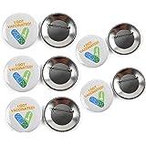 GSJDD Porta Badge per vaccini da 5 Pezzi, Spilla da 2,28 Pollici, Sono Stato vaccinato per Spilla a Bottone, Spilla da Spilla