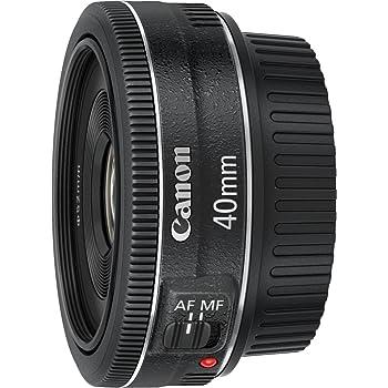Canon Obiettivo, EF 40 mm f 2.8 STM, Nero