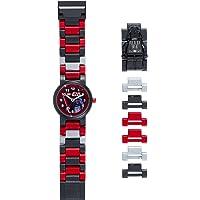 LEGO Star Wars 8021018 Orologio da polso componibile per bambini con cinturino a maglie e minifigure Darth Vader   per i…