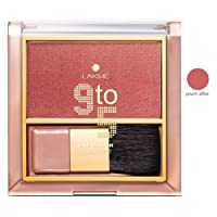 Lakme 9 To 5 Pure Rouge Blusher, Peach Affair, 6g