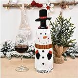 WanXingY Bottiglia di Vino Rosso Tappo Borsa, Bottiglia di Vino da Tavola di Natale del Regalo della Decorazione del…