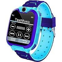 Smartwatch Bambini,Musica e 7 Gioco Smartwatch per Bambini 3-12 Anni Ragazze Ragazzo con Fotocamera Slot per Scheda SIM…