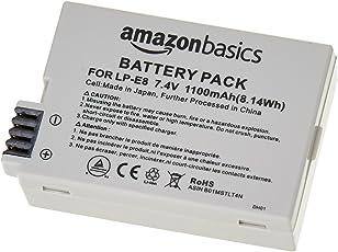 AmazonBasics - Lithium-Ionen-Akku für Kameras Canon (LP-E8)