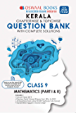 Oswaal Kerala SSLC Question Bank Class 9 Mathematics Chapterwise & Topicwise (For March 2020 Exam) Old Book