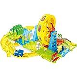 Webby Battery Operated Wheel Toy Train Set (43 Pcs)