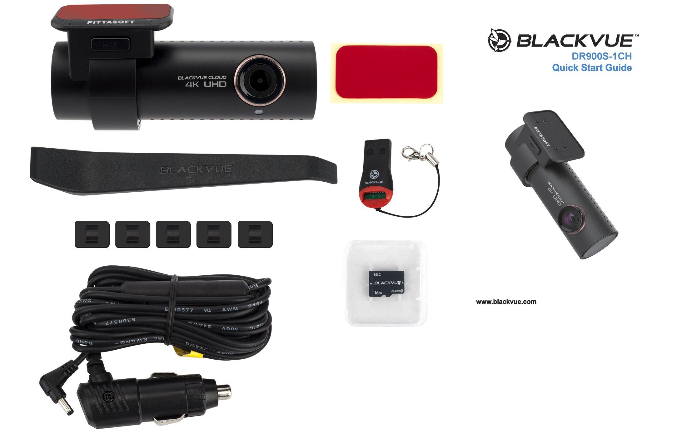 BlackVue-DR900S-1CH-4-K-Ultra-HD-Weitwinkel-Cloud-Verbunden-Dash-Kamera