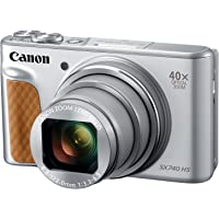 Canon PowerShot SX740 Digital Camera w/40x Optical Zoom & 3 Inch Tilt LCD - 4K Video, Wi-Fi, NFC, Bluetooth Enabled…
