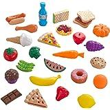 KidKraft 63509 30 leksaksmat, färgglada