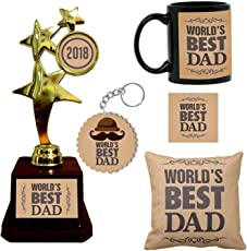 Giftsmate Fathers Day Gifts, Worlds Best Dad Combo Gift Hamper