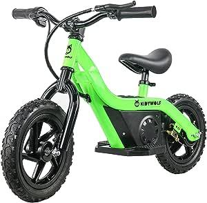 KIDYBIKE Draisienne Moto électrique pour Enfants