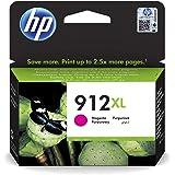 HP 912XL Cartouche d'Encre Magenta grande capacité Authentique (3YL82AE) pour HP OfficeJet Pro 8010 series / 8020 series
