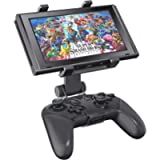 OIVO Switch Pro Controller Clip Mount Compatible with Nintendo Switch/Switch Lite, Adjustable Clip Clamp Holder Mount