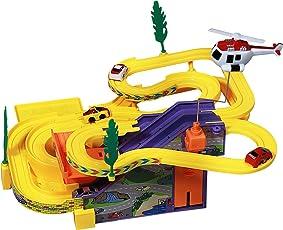 Toyshine Track Racer Racing Car Set (Multi-color)