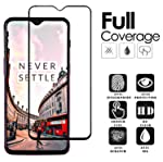 Aeidess 6D Tempered Glass for OnePlus 6T Edge to Edge Full Screen Coverage with Precisely-Engineered 6d Tempered Glass...