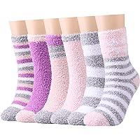 Toes Home Caldi e soffici calzini da donna - Caldi e confortevoli per l'inverno, super soffici per la casa e il letto…