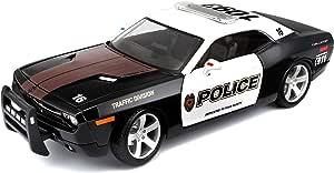 Bauer Spielwaren Maisto 31365 Modellauto 1 18 Dodge Challenger Concept 06 Polizei Spielzeug