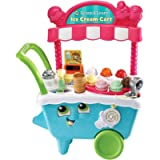LeapFrog 600703 Scoop & Learn Pretend Toddler Toy for Role Play Food and Magic Ice Cream Scooper Scoop/Learn Cart Set…
