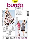 Burda Schnittmuster Retro-Kleid/Top/Rock