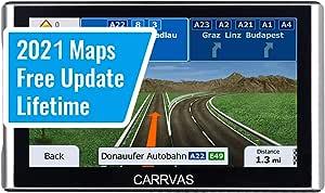 Gps Navi Navigationsgerät Für Auto Carrvas Gps Navigation Für Pkw Spracherinnerung 7 Zoll Vorinstallieren Eu 2021 Neueste Karten Lebenslang Kostenloses Kartenupdate Navigation