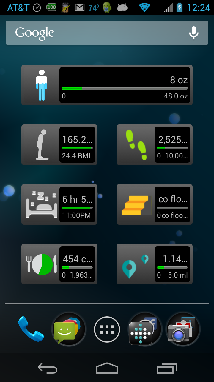FitIt Pro: Widget for FitBit®: Amazon.co.uk: Appstore for
