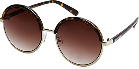 Fastrack Gradient Round Women's Sunglasses - (C070BR3F|55|Brown Color)