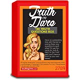 Truth Or Dare: 100 Questions Fun Party Game for Adults or Naughty Gift for Couples