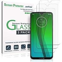 Verre Trempé Moto G7 / G7 Plus, amFilm Protecteur D'écran pour Motorola Moto G7 et G7 Plus (3 Pièces)