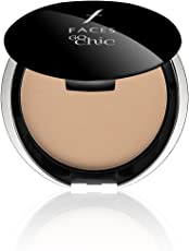 Faces Go Chic Pressed Powder, Ivory 01, 9g