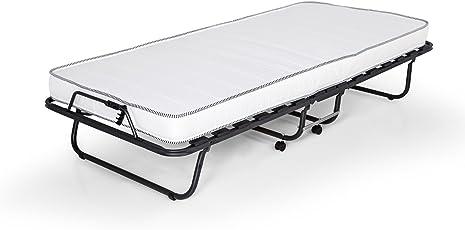 moebel-eins Celina Gästebett klappbar inkl. Matratze und Schutzhülle