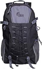 F Gear Macho Polyester 35 Ltrs Black Trekking Backpack (2372)