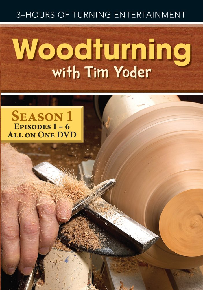 Woodturning with Tim Yoder, Episodes 1-6 [Edizione: Regno Unito]