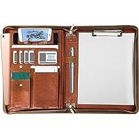NEWYES A4 Pacchetto di file aziendali,Organizzatore di file aziendali multifunzionale Cartella aziendale con Cerniera…
