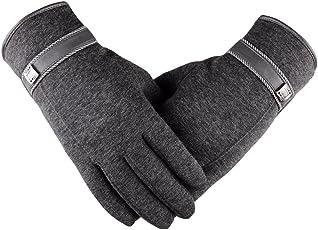 Men's Winter Touchscreen Gloves for Smart Phones Tablets Driving