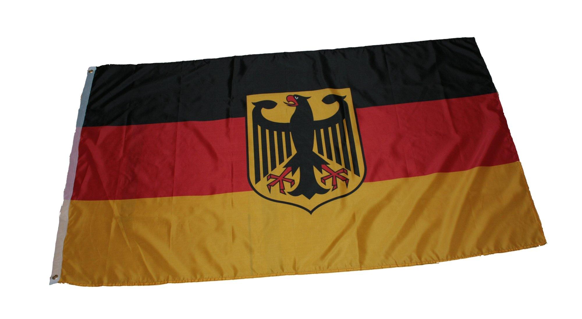 Flagge Fahne Deutschland mit Adler 150x90cm