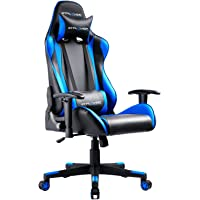 GTPLAYER Gaming Stuhl Bürostuhl Zocker Gamer Ergonomischer Stuhl Einstellbare Armlehne Einteiliger Stahlrahmen…