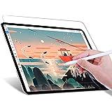 JETech Protector de pantalla de Papel Write Like Compatible con iPad Pro 12,9 Pulgadas 2021/2020/2018 Modelo, Antirreflejos,