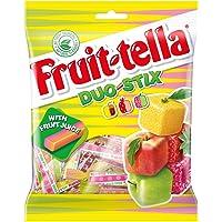 Fruittella Duo Stix Sharing Bag, 160g (Pack of 8)