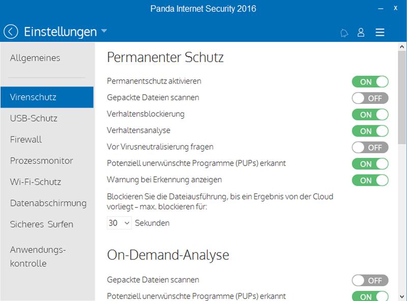 Panda Internet Security 2016 - 3 User / 12 Monate [Online Code] - 2
