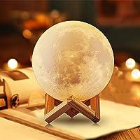 NSL lampe de lune lune lumière lune veilleuse lampe de lune personnalisée pour chambre lampe de lune imprimée 3D cadeau…