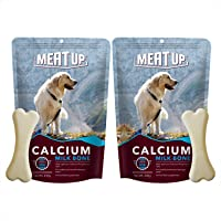 Meat Up Calcium Bone Pouch , Dog Treats - 25 pieces (230 gm) ( BUY 1 GET 1 FREE)