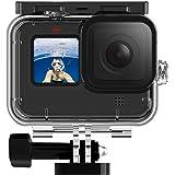TELESIN Waterproof Case 3 Pack Filters Diving Combo for GoPro Hero 9 Black 45M Deep Underwater Snorkeling Scuba Diving