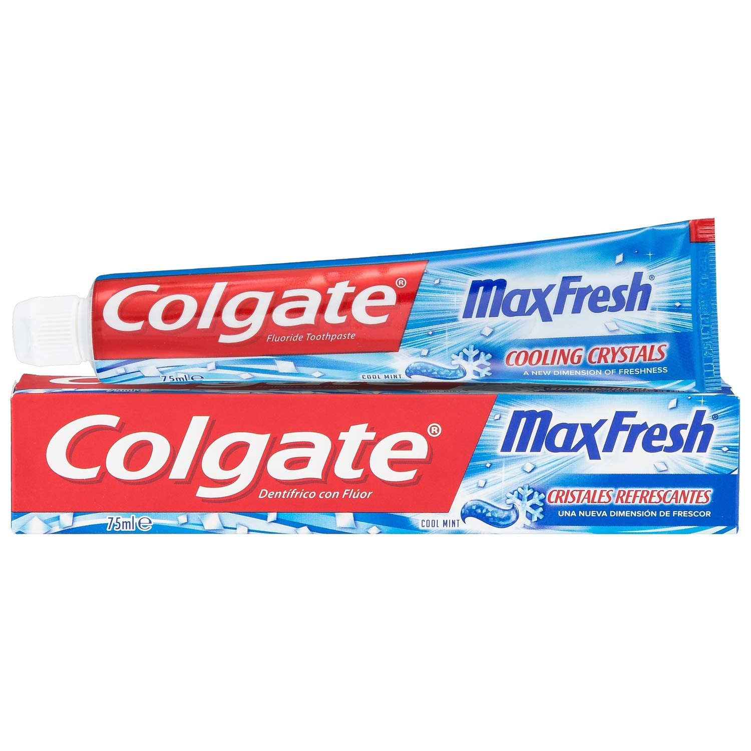 Colgate Max Fresh Crema Dental Azul 75ml, 1 unidad parent