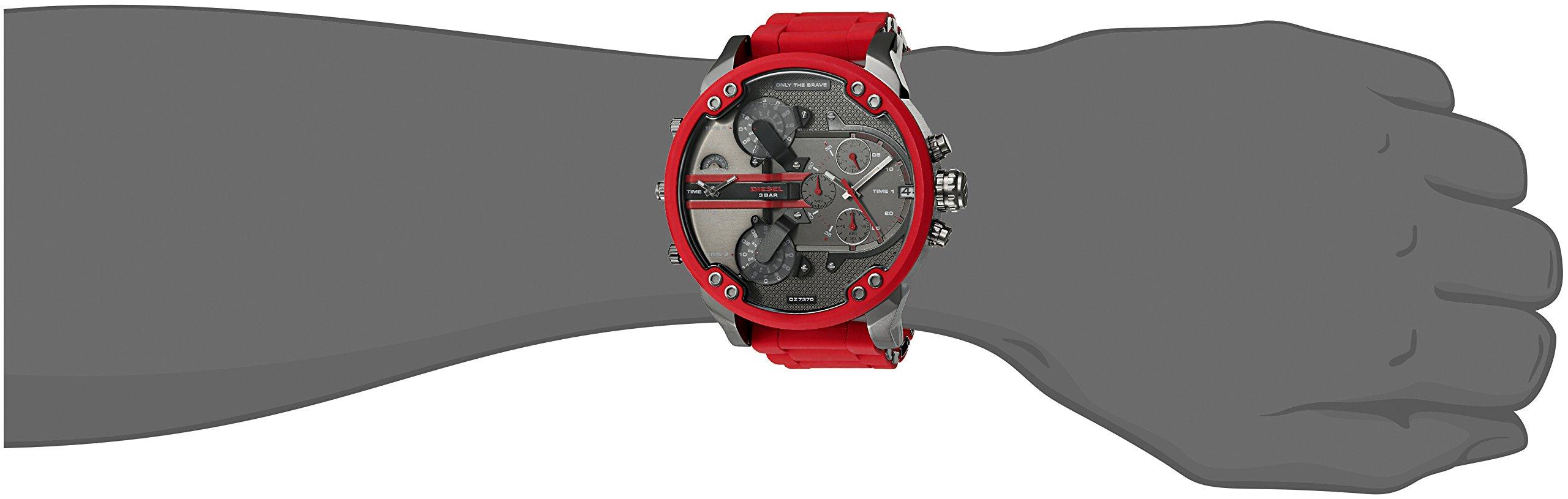 Diesel Mr. Daddy 2.0dos mano acero inoxidable reloj