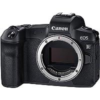 Canon EOS R Vollformat Systemkamera Gehäuse (spiegellos, 30,3 MP, 8,01 cm (3,2 Zoll) Clear View LCD II Display, DIGIC 8…