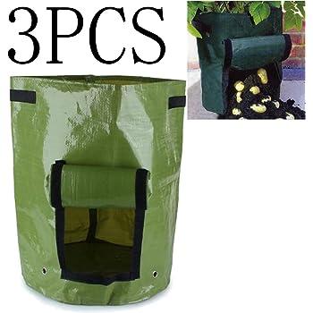 joyooo 3 sacs de culture pour pommes de terre jardin. Black Bedroom Furniture Sets. Home Design Ideas