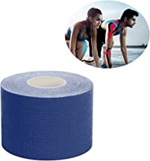 Jelinda Kinesiology Tape with Free Illustrated E-Guide - 16ft Uncut Roll - Best Pain Relief Adhesive for Muscles