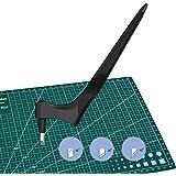 langjiao Couteau pour Loisirs Créatifs,Massicots à Lame Rotative, Outil de découpe pour papier, Scalpel de Découpe, avec 3pcs